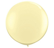 "Qualatex 36"" Ivory Silk Latex Balloon"
