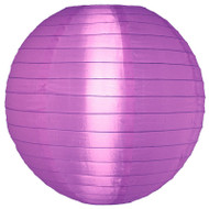 "Light Purple 14"" Nylon Lantern"
