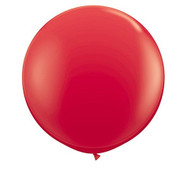 "Qualatex 36"" Red Latex Balloon"