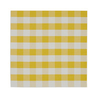 Snapdragon & White Checker Placemat - Set of 4