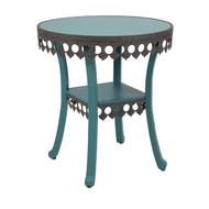 Ella Elaine Accent Table - Blue