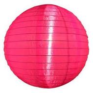 """Pink 14"""" Nylon Lantern"""