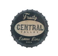 "13.5"" Lemon Lime Soda Wall Sign"