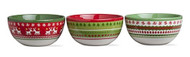 Sweater Party Bowls - Set of 3