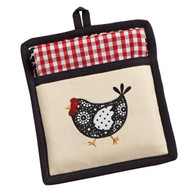 Hen Potholder Gift Set