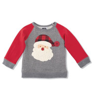 Mud Pie Baby & Toddler Boys Santa Sweatshirt - 24 months-2T/3T