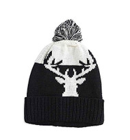 Baby Boys Moose Knit Hat