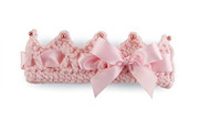 Baby Girls Crocheted Crown Headband