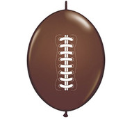 Football Connecting Balloons - Set of 12