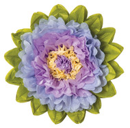 Tissue Paper Flower - Lilac & Periwinkle 15 Inch