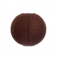 "Brown 14"" Paper Lanterns - Set of 2"