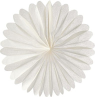 White 19 Inch Paper Daisy Decoration