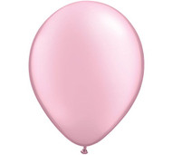 "11"" Pearl Pink Latex Balloon - Set of 6"