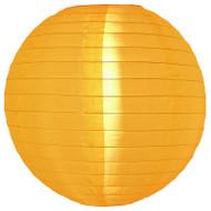 """Yellow 14"""" Nylon Lantern"""