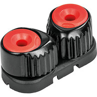 Small Alloy Cam Cleat Red - Black Base