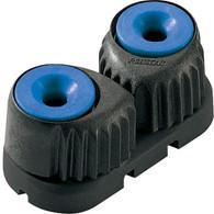 Small Carbon Fibre Cam Cleat Blue