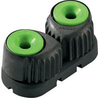 Small Carbon Fibre Cam Cleat Green