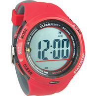 ClearStart Sailing Watch 50mm Red/Grey
