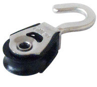 20mm Single Block with Swivel Hook