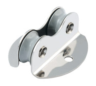 16mm Double Thorugh Deck Lightweight Plain Bearing Block