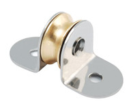 16mm Brass Through Deck Lightweight Plain Bearing Blocks