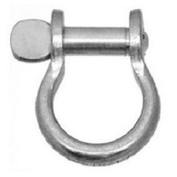 Heavy Duty Bow Shackle - Flat Head Pin