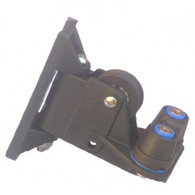 PYF102 Black Swivel Control Cleat including Small Cam