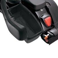 Honda 700 Shadow VT700 Lamellar Medium Covered Hard Saddlebags