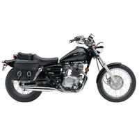 Honda CMX250C Rebel 250 Spear Thor Series Small Leather Saddlebags