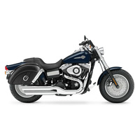 Harley Dyna Fat Bob FXDF Quarter Circle SaddleBags 2