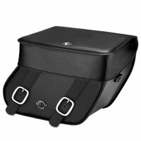 Honda VTX 1300 F Concord Leather Saddlebags
