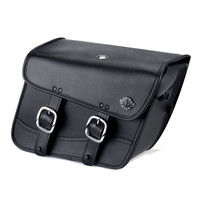 Harley Dyna Fat Bob FXDF Thor Series Small Leather Saddlebags 1
