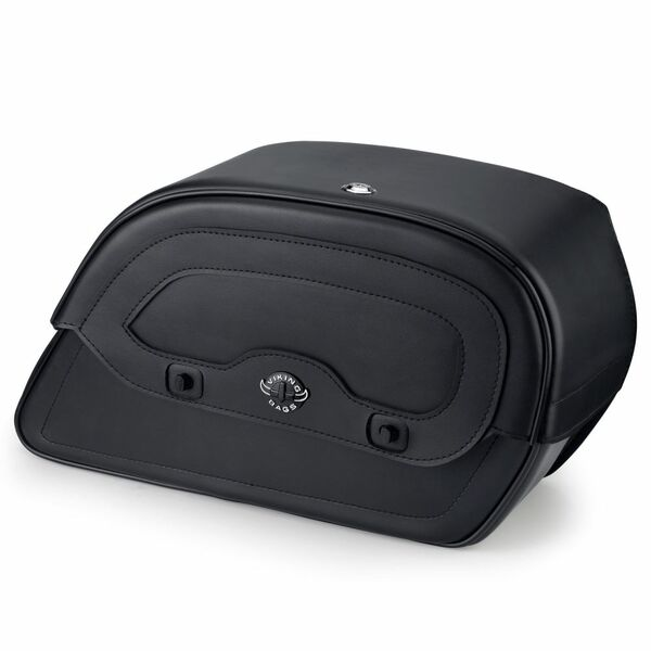 Honda VTX 1300 T Tourer Warrior Series Medium Leather Saddlebags