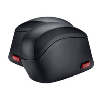 Honda VTX 1800 C Lamellar Slanted Leather Covered Hard Saddlebags 4