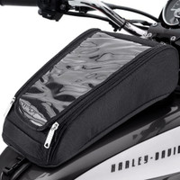 Harley Dyna Low Rider FXDL Charger Brown Leather Motorcycle Saddlebags