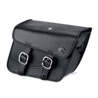 Honda VTX 1800 R Retro Spear Thor Series Small Leather Saddlebags