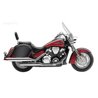 Honda VTX 1800 T Viking Lamellar Slanted Hard Saddlebags