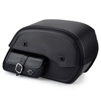 Harley Dyna Low Rider FXDL Universal Plain Side Pocket Saddlebags  1