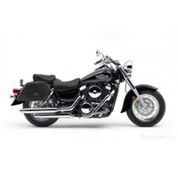 Kawasaki Vulcan 1500 Classic Warrior Series Medium Leather Saddlebags 2