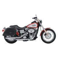 Harley Dyna Low Rider FXDL Universal Warrior Large Slanted Saddlebags 2