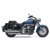 Kawasaki Vulcan 1700 Classic Charger Braided Leather Saddlebags