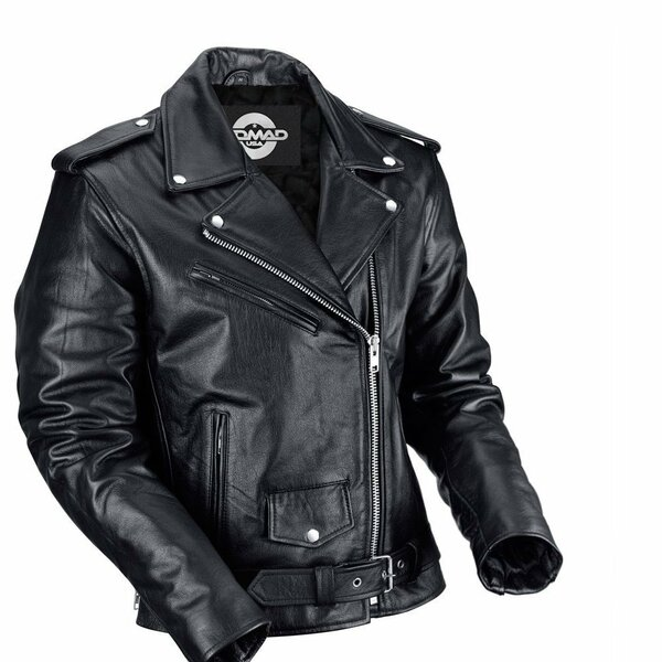 Nomad Classic Leather Biker Jacket for Men 1