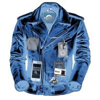 Nomad Classic Leather Biker Jacket for Men 3