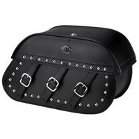 Suzuki Boulevard C50 Trianon Studded Leather Saddlebags 1