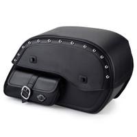 Suzuki Boulevard C50 Universal Studded Side Pocket Saddlebags 1
