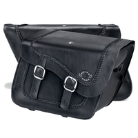 Suzuki Boulevard M109 Charger Braided Leather Saddlebags 4