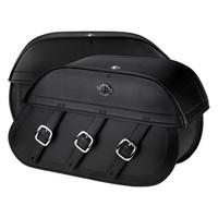Suzuki Boulevard M109 Trianon Leather Saddlebags 4