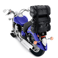 Viking Aero Medium Expandable Sissy Bar Bags 2,700-3200 Cubic Inches
