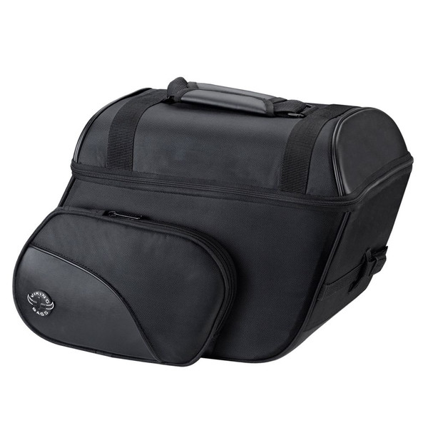 Viking Cruise Large Slanted Saddlebags 1