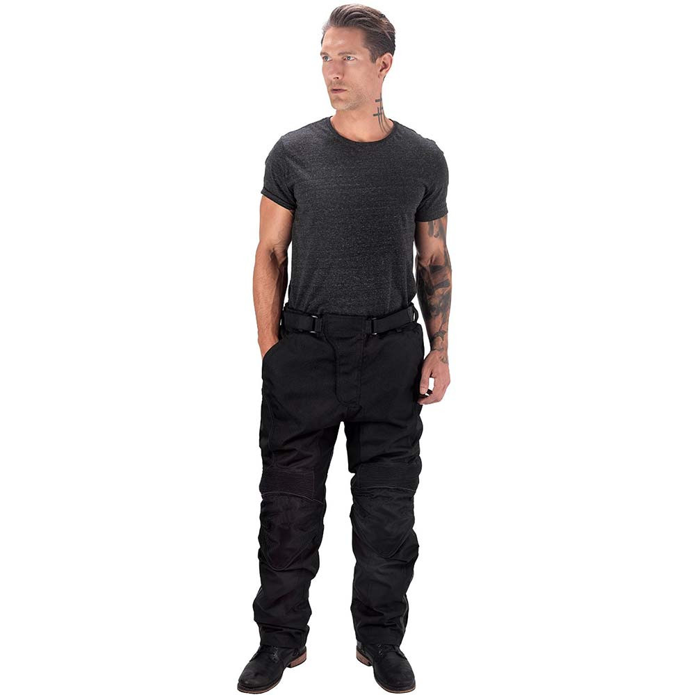 VikingCycle Saxon Motorcycle Trousers for Men